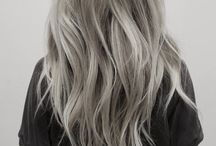 Grey hair in fashion / Grey color is no longer a sign of aging....it's fashion and beauty. Be fashionable and stylish in grey hair...:p