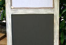 Chalkboard / La mia passione per le lavagne