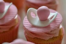 Baking, Baby / Childrens ( Cup) Cakes Ideas,maybe Tuto attached to the pin / Examples for Baby and Childrens (Cup) Cakes for birthday parties or baby showers (and some Tutorials) / by Gerry Teuben