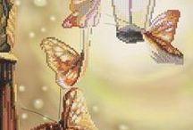 Motyle / Haft