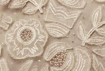 Lace beading