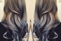 moda saç tasarımları ve renk akışı