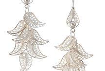 Zilveren Filigrain Sieraden / Zilveren sieraden met de handgemaakt door edelsmeden uit Peru.