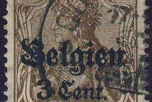 Stamps, Germany, German Occupation I. Worldwar