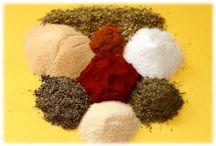 Seasonings and what nots / by Sheeba
