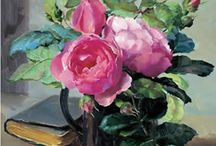 Flower Art Cards and Calendars by Anne Cotterill / Fine art greetings cards, calendars and gifts reproduced from the oil paintings of Anne Cotterill.