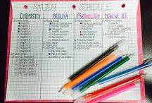 Stay organized / School/ work/ home