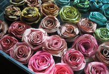 Tecidos e Flores