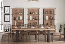 Modern Dining Collection in Natural Paulownia