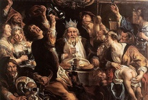 ✿ Exposition Jordaens 2013 / Du trio de tête de la peinture flamande du XVIIe siècle, Rubens-Van Dyck-Jordaens, ce dernier est moins connu .  Le Petit Palais présente Jordaens, la gloire d'Anvers, grâce aux prêts d'œuvres de musées français et internationaux. / by Uba Diolo