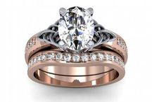 Celtic Engagement Rings / A selection of the most popular Celtic engagement rings and wedding rings. The Celitc Trinity Knot adds a meaningful touch of love, life and beauty to these diamond engagement rings.   / by DIAMOND MANSION CO. Unique Engagement Rings