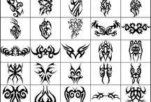Desain Tatto Tribal