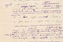 Original old writings