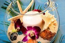 tropical & sea wedding