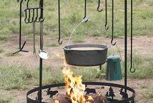 Backyard camping and sukkah