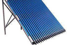 solar collector / aluminium cover,  heat pipe sales@blueclean.com.cn solar collector with heat pipe