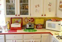 vintage kitchens etc  / by Carol Van Curen-Wright