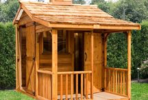 Sheds with Porches / Cedarshed offers 5 styles of Sheds with Porches. A great addition to your backyard.