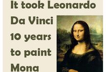 Leonardo da Vinci facts