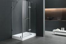 Receveur douche et porte