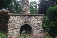 Projects to Try-outdoor fireplace
