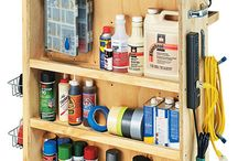 Woodworking shop Ideas / by Mikeal Deal