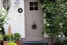 My ideal front door...sweet