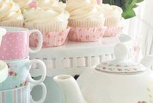 Kitchen tea pink cupcakes