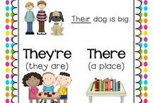 school - Literacy ideas
