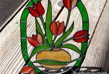 Sherri's Stained Glass!