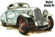 retro cars