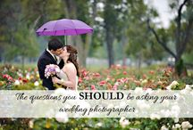Wedding Advice / Links to blog articles by Corey Ann with advice for various aspects of the wedding day.