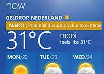 Nederland draait door van Thaise hitte