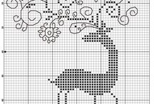 punct cruce , cross stitch