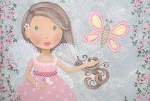 Barndom / Søte bilder fra barnebøker og andre fine bilder