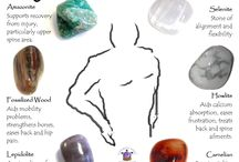 crystals for back pain.