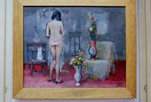 Contemporary paintings