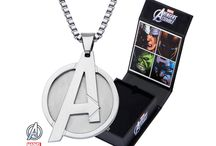 Marvel & DC Comics Jewelry / Looking for Marvel or DC related Jewelry? Look no further.  Here you will find a huge selection of both Marvel and DC comic related jewelry for both men and women.  Batman earrings, Avengers Jewelry and more!