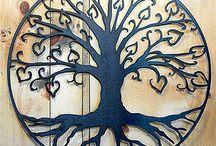 External wall art