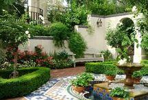 Jardín  ideas y decoración / Adorno de jardines