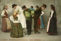 Suomalaiset muinais- ja kansallispuvut