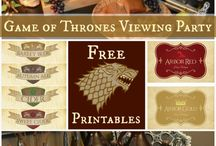 EVENTS // GOT / Game of Thrones Themed Party