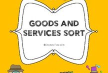 goods and services / by Barbara Bauman