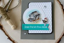 Apology / Cards and Gift Ideas using SugarPea Designs clear stamps.