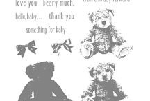 Stampin UP Baby Bear