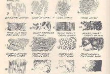 Текстуры(карандаш)