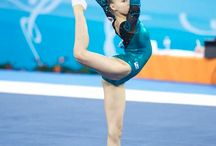 Gymnasts around the world