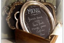 DIY Chalkboards / Chalkboard Decor Ideas