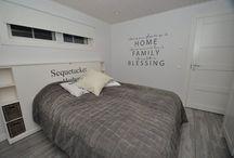 Makuuhuone / Uuteen taloon ideoita makuuhuoneeseen. ♥