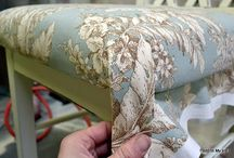 Upholstery & fabric / All things upholstery / by Theshabbychicas